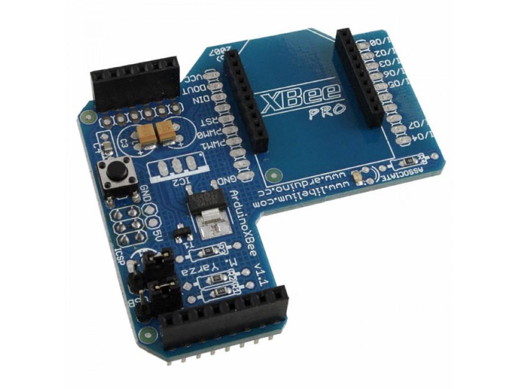Arduino shield zigbee xbee senza modulo radio elcoteam
