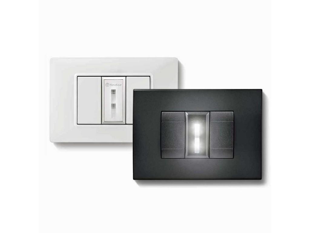 Plafoniere Con Luce Di Emergenza : Lampada di emergenza da incasso finder lumos bianco l