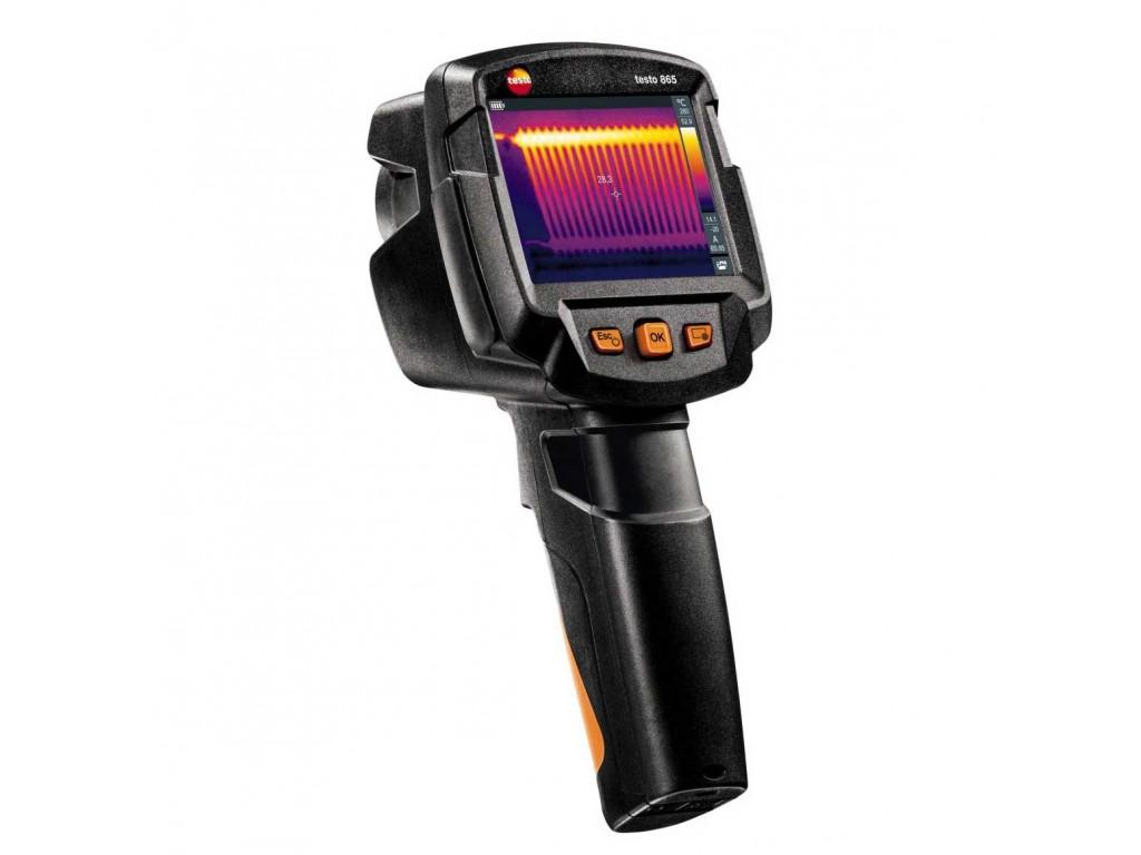 Testo 865 termocamera 160x120 con super risoluzione - Termocamera prezzi ...