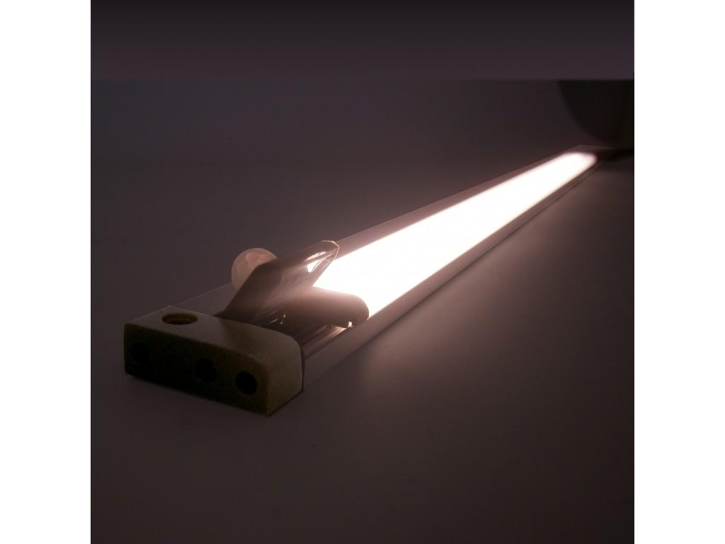 Plafoniere A Led Con Sensore Di Presenza : Barra a led piatta v w l cm con sensore pir orientabile