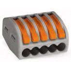 Wago 222-415 Morsetto di Giunzione per 5 conduttori