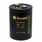 Condensatore Elettrolitico Kendeil K01 3300µF 450VDC con Terminali a Vite K01450332