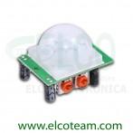 HC-SR501 Sensore PIR infrarossi volumetrico per Arduino