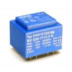 Trasformatore Incapsulato Era EI30/12,5 1,5VA - 2x115V - 12V