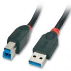 Cavo USB 3.0 Tipo A/B 2m - Nero
