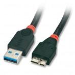 Cavo USB 3.0 Tipo A / Micro B 0,5m - Nero