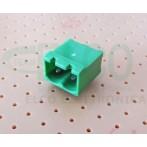 Connettore Maschio 2 poli passo 5mm STELVIO CPM SQ