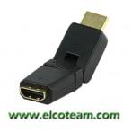 Adattatore snodabile Presa HDMI - Spina HDMI