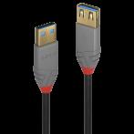 Prolunga USB 3.0 Tipo A M/F 2m - Nera