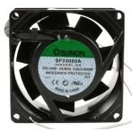 Sunon SF23080A/208HBL.GN Ventilatore 80X80x38 230VAC su Cuscinetto a Sfera