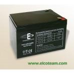 Batteria CICLICA al piombo 12V 12Ah CSB