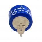 Batteria ricaricabile Ni-Cd da C.S. 2,4V 280mAh