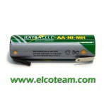 Batteria stilo AA 1,5Ah Ni-Mh lamelle a saldare