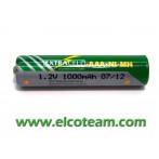 Batteria mistilo AAA 1.0 Ah
