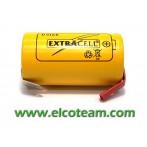 Batteria torcia D 4.4 Ah Ni-Mh lamelle