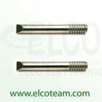 MT3 Punta a scalpello 4mm per SP25 - Confezione 2 pezzi