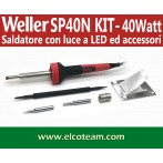 Weller SP40N Saldatore 40W 220V kit punte