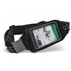 Marsupio sportivo porta smartphone sensibile al tocco e uscita per auricolari