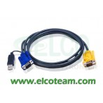 ATEN 2L-5203UP Cavo 3m per KVM USB