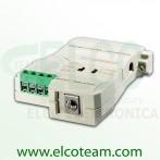 Convertitore bidirezionale isolato RS-232/RS-485 Aten IC-485SI