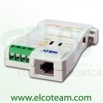 Convertitore bidirezionale autoliamentato RS-232/RS-485 Aten IC-485SN