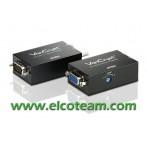 Estensore VGA compatto su cavo UTP cat.5 cat.6