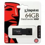 Kingston DT100G3/64GB Pen drive USB 3.1 da 64GB