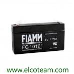 Batteria FIAMM 6V 1,2Ah FG10121