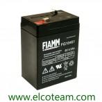 Batteria Ermetica al piombo 6V 4 Ah ENERGYTEAM