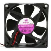 Bi-Sonic SP802524M-03 Ventilatore 80X80x25 24VDC su Bronzina