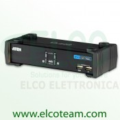KVM switch 2 porte con hub USB Aten CS1732B