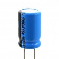 Condensatore Elettrolitico 1000uF 16 Volt 85°C Lelon 10x16