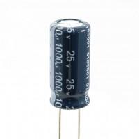 Jianghai  ECR1EBX102M Condensatore Elettrolitico 1000uF 25 Volt 105°C 10x20 Nastrato