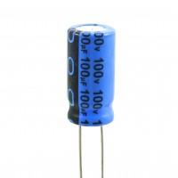 Condensatore Elettrolitico 100uF 100 Volt 85°C Jianghai 10x20