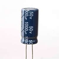 Condensatore Elettrolitico 1000uF 50V 105°C Jianghai 12,5x26
