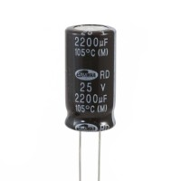 Condensatore Elettrolitico 2200uF 25V 105°C Samwha 12,5x25