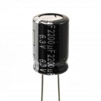 Panasonic ECA0JHG222 Condensatore Elettrolitico 2200uF 6,3V 105°C