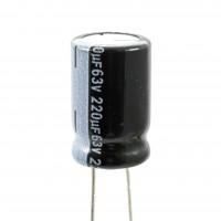 Lelon RGA221M1J1016-SA8 Condensatore Elettrolitico 220uF 63 Volt 105°C Lelon 10x16 Nastrato