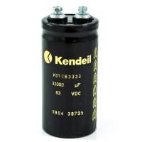 Condensatore elettrolitico Kendeil 47000µF 100VDC