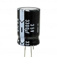 Condensatore Elettrolitico 3300uF 35V 85°C ELNA 26x40