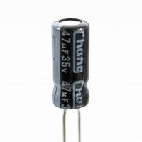 Chang GR1V470MC110B25CVS Condensatore Elettrolitico 47uF 35 Volt 85°C 5x11 Nastrato