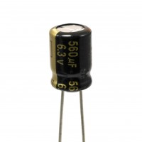 Panasonic EEU-FM0J561 Condensatore Elettrolitico 560uF 6,3V 105°C