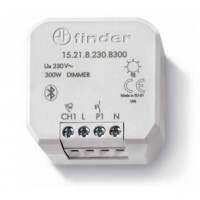 Finder 15.21.8.230.B300 Dimmer Bluetooth da incasso con 1 uscita 300 Watt - YESLY