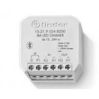 Finder 15.21.9.024.B200 Dimmer Bluetooth PWM per Led a 12/24V 8A