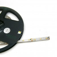 Strip flessibile Led SMD Bianco Caldo 12V, 4,8W/m, IP65, modulo 5 cm