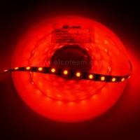 Striscia LED 5 Metri Colore Rosso 12VDC 14,4W/m IP33