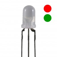 Kingbright L-59EGW LED bicolore Verde/Rosso 5mm
