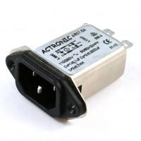Actronic AR07.6A Filtro EMI con Spina IEC da 6 Ampere