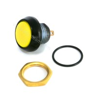 Pulsante stagno IP67 Normalmente Aperto colore giallo