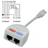 Port Doubler UTP- 2 x Ethernet